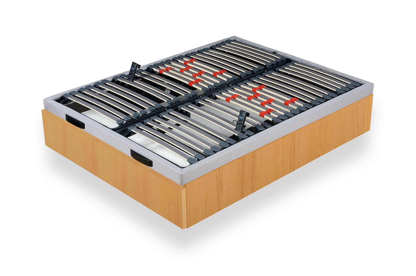 Canape articulado electrico con cajon zapatero un canape for Somier 135 barato