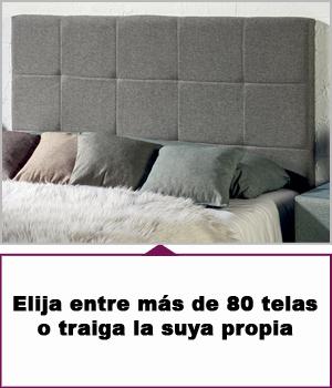 Cabeceros tapizados 100 cm para cama de 90 cm - Cabeceros acolchados cama ...