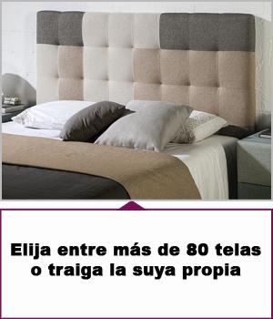 Cabeceros tapizados 185 cm para cama de 180 cm - Cabecero cama 180 ...