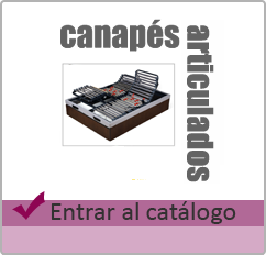 canapes articulados
