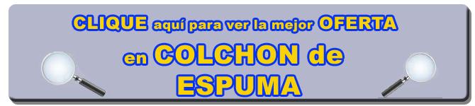 COLCHÓN DE ESPUMA   LATIENDADECOLCHONES.COM