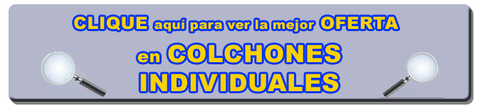 COLCHONES INDIVIDUALES   LATIENDADECOLCHONES.COM