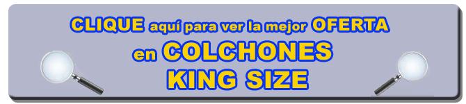 Colchones king size latiendadecolchones com for Cuales son las medidas de un colchon king size