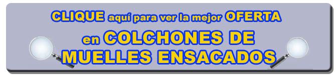 COLCHONES DE MUELLES ENSACADOS OPINIONES   LATIENDADECOLCHONES.COM