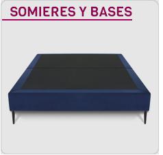catálogo de somieres y bases tapizadas