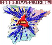 Desde Madrid para toda la península