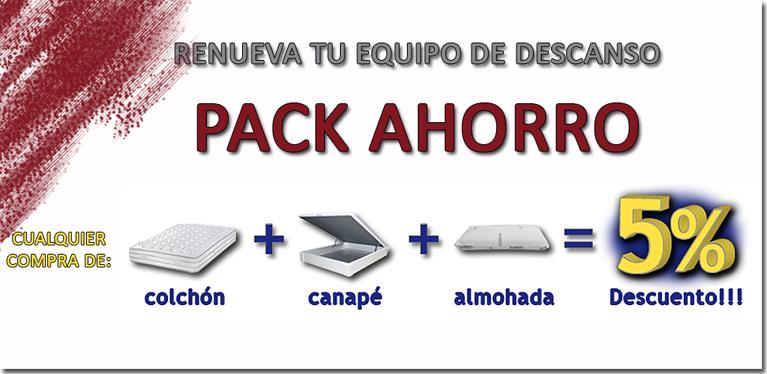 pack ahorro colchones