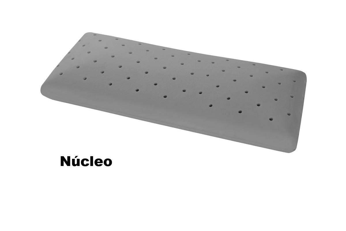 ALMOHADA VISCOELASTICA CARBONO - 90 cm