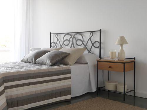 CABECERO FORJA MODELO 1057 95 cm (cama de 90 cm)