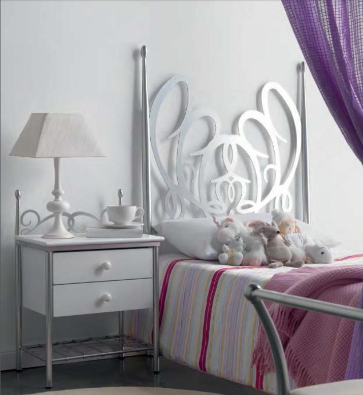 CABECERO FORJA MODELO 1002 95 cm (cama de 90 cm)