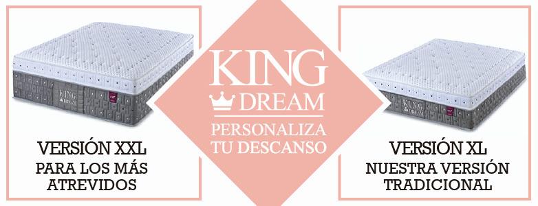 COLCHÓN KING DREAM XXL
