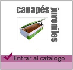 canapes juveniles